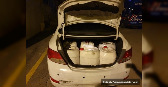 Araçlarda Mazot Çalan Hırsızlar Yakalandı