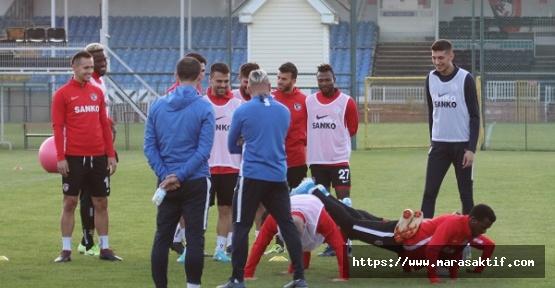 Gaziantep FK Galatasaray'a Hazırlanıyor