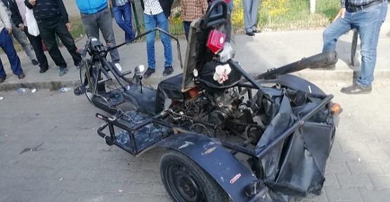 İlginç Motosikletle Ceza Yedi