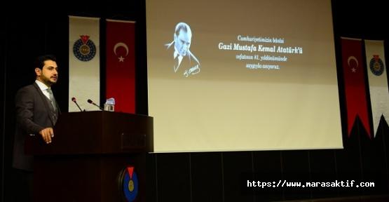 KSÜ'de Atatürk'ü Anma Töreni Düzenlendi