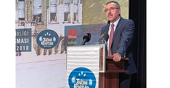 Tarihi Kentler Birliği Ödül Töreni Yapıldı