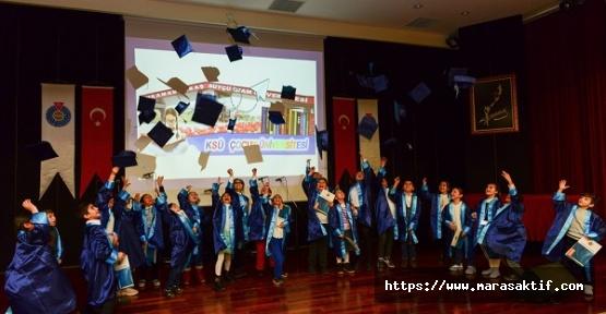 Çocuk Üniversitesi Mezunları Diplomalarını Aldı
