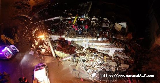 Depremde Ölü Sayısı 14