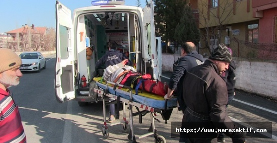 Elbistan'da Kaza 1 Yaralı
