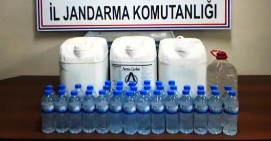 Kahramanmaraş'ta Kaçak İçki Ele Geçirildi