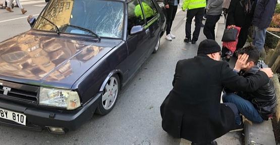 Kahramanmaraş'ta Yaya Ağır Yaralandı