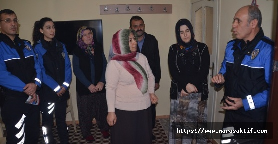 Kahramanmaraş'ta Polis Uyardı