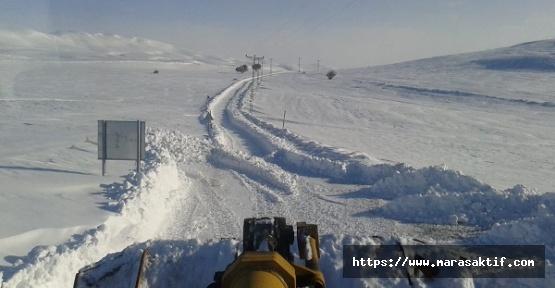 Kar Temizleme Yol Açma Çalışmaları