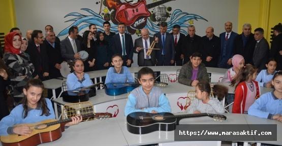 Okula Müzik Atölyesi Açıldı