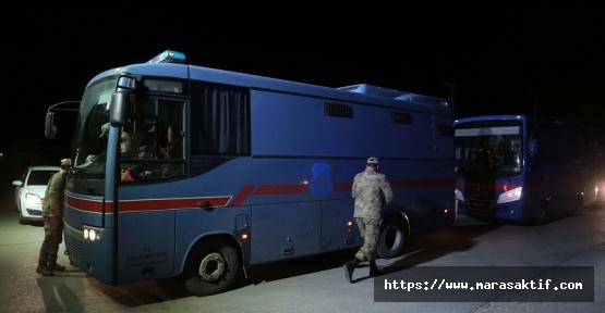 Tutuklulardan 500'ü Kahramanmaraş'a Getirildi