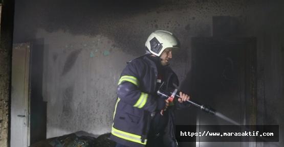 Yangın Çıktı 1 Kişi Etkilendi