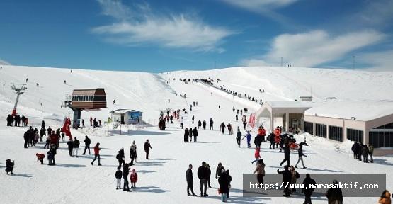 Yedikuyular Kayak Merkezi'nde Sezon Açıldı