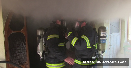 Evde Yangın Çıktı