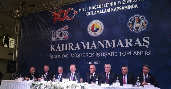 Hisarcıklıoğlu KMTSO'da Konuştu