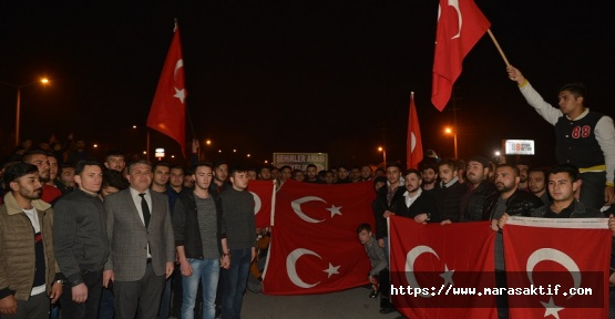 Kahramanmaraş'tan Mehmetçiğe Destek