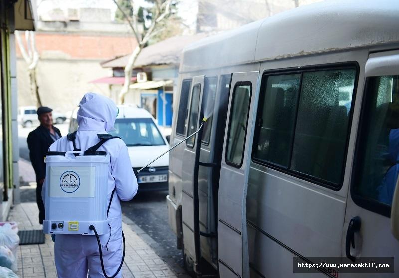 Kırsal Mahallelerde Dezenfekte Çalışmaları