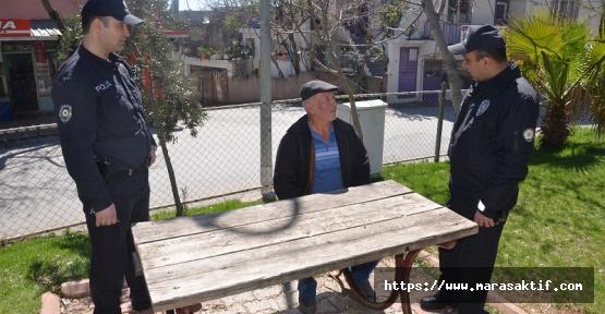 Parklardaki Yaşlılar İhbar Edildi