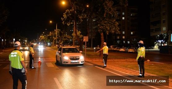 46 Kahramanmaraş'ta 46 Sürücüye Ceza