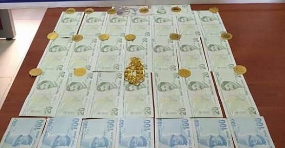 Altın ve Para Dolu Çantayı Alan Kişi Yakalandı