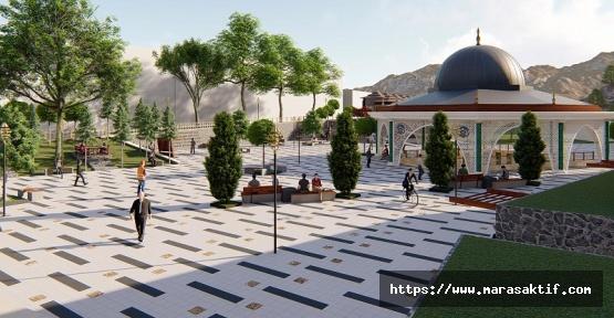 Büyükşehir Ekinözü'ne Millet Meydanı Yapıyor