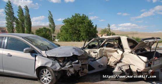 Kahramanmaraş'ta Kaza 8 Yaralı