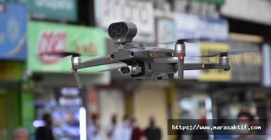 Maske Takmayanlar Drone İleTakip Ediliyor