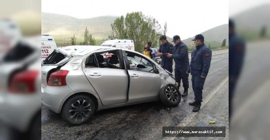 Otomobil Devrildi 1 Ölü 2 Yaralı