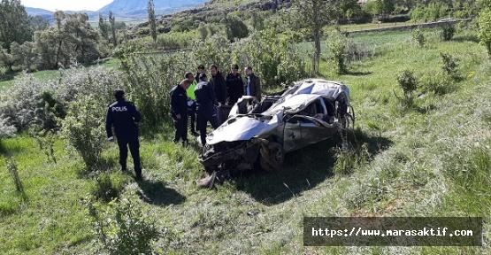 Otomobil Uçuruma Düştü Sürücü Öldü