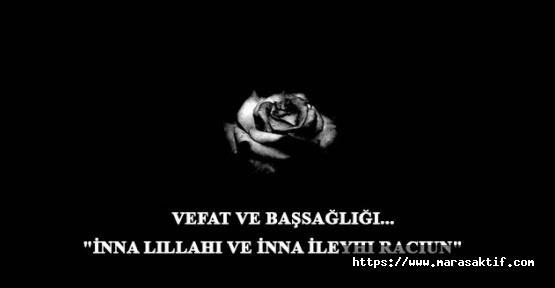02.06.2020 Salı Kahramanmaraş Cenaze İlanları