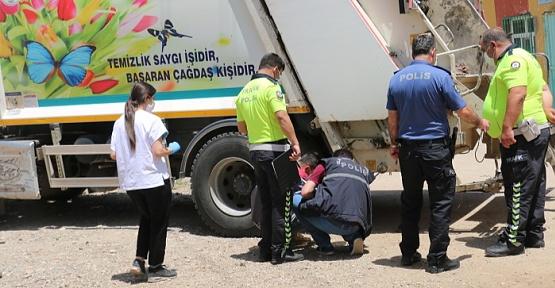 Çöp Kamyonu Çarpan Çocuk Öldü