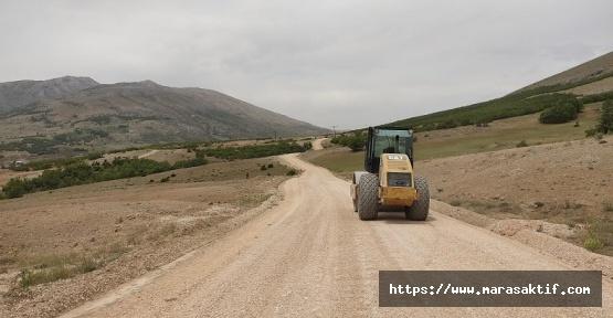 Dağlıca'da Yol ve Altyapı Çalışmaları