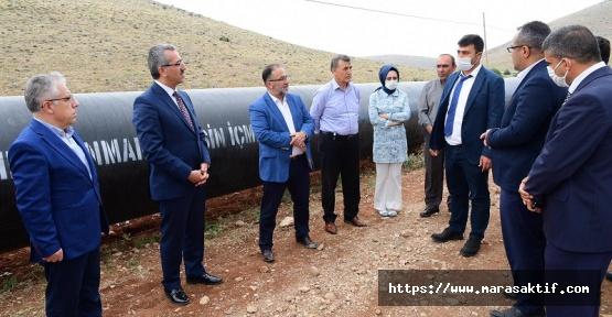 Elbistan ve Afşin'in 100 Yıllık Su Sorunu Çözülüyor