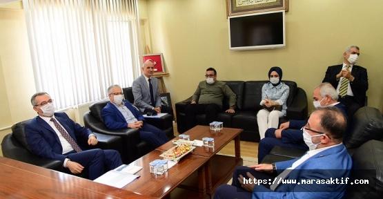 Güngör Afşin Belediyesini Ziyaret Etti