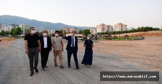 Güngör Aliya İzzetbegoviç Parkını İnceledi