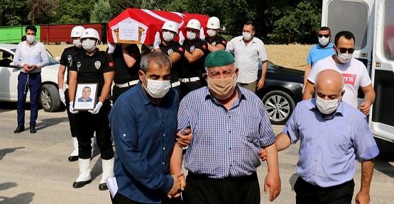 Kahramanmaraş'ta Ölen Polis Defnedildi