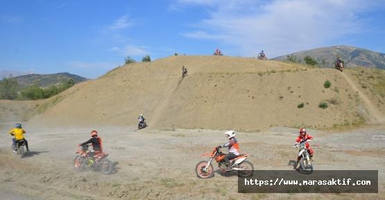Motosiklet Tutkunları Kahramanmaraş'ta