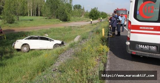 Otomobil Devrildi 2 Ölü 2 Yaralı