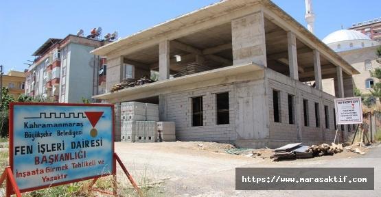 Sosyal Merkezin Kaba İnşaatı Bitti