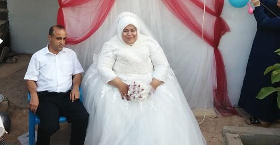 Büyükşehirden Engelli Çifte Düğün Jesti