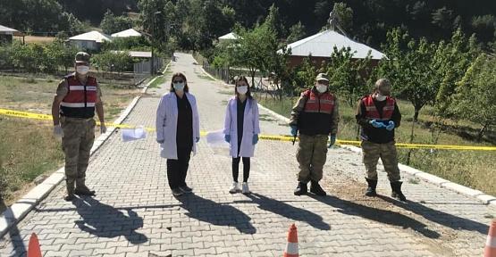 Kahramanmaraş'ta Mahalle Karantinaya Alındı