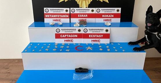 Kahramanmaraş'ta Operasyon 2 Gözaltı