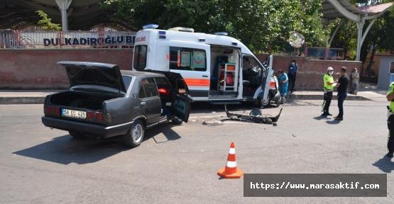 Kahramanmaraş'ta 2 Kaza 4 Yaralı