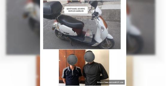 Motosiklet Hırsızı Tutuklandı