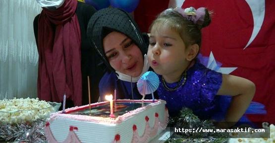 Şehidin Kızına Doğum Günü Kutlaması