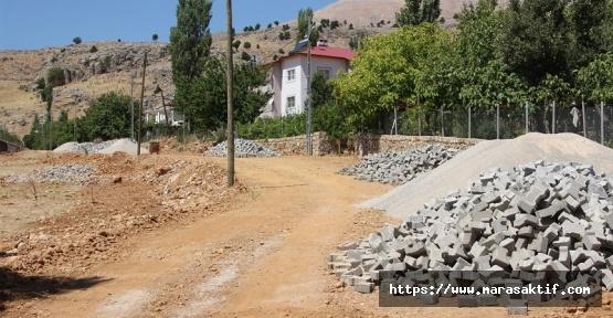 Nurhak'ta Yol Çalışmaları Devam Ediyor