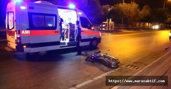 İki Motosiklet Çarpıştı 3 Yaralı