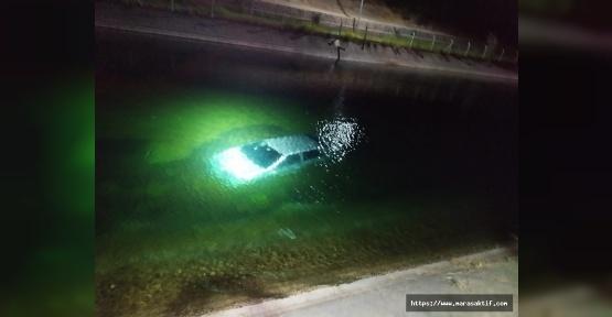 Kanala Düşen Otomobildeki Kadın Öldü