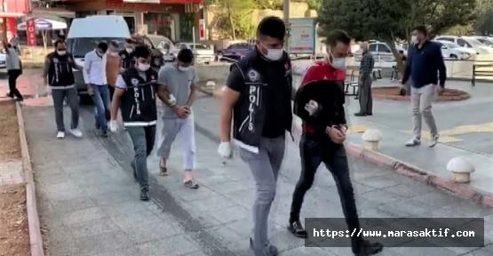 Kahramanmaraş'ta 4 Torbacı Yakalandı