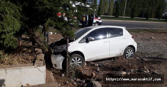 Kazadan Kaçtı Kaza Yaptı