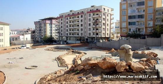 Pazarcık'a Yeni Park Yapılıyor
